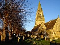 St Mary's Church and graveyard.jpg