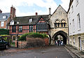St Mary's Gate, Gloucester from East.jpg