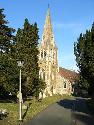 Camberley - Image: St Michael's, Camberley geograph.org.uk 121611