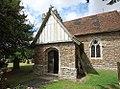 St Nicholas, Boughton Malherbe, Porch.jpg