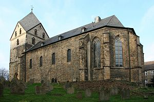 St. Peter, Syburg - View from the north east