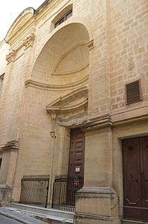 St Roques Church, Valletta Church in Valletta, Malta