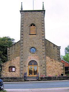 St Thomas Church, Garstang Church in Lancashire, England