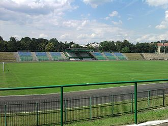 1000th-Anniversary of Polish State Stadium - Image: Stadion Zawiercie