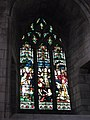 Stained glass window at the west end of the aisle - geograph.org.uk - 731520.jpg