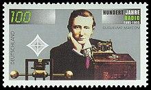 "Bild ""http://upload.wikimedia.org/wikipedia/commons/thumb/8/80/Stamp_Germany_1995_Briefmarke_100_Jahre_Radio.jpg/220px-Stamp_Germany_1995_Briefmarke_100_Jahre_Radio.jpg"""