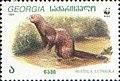 Stamp of Georgia - 1999 - Colnect 294253 - European Mink Mustela lutreola.jpeg