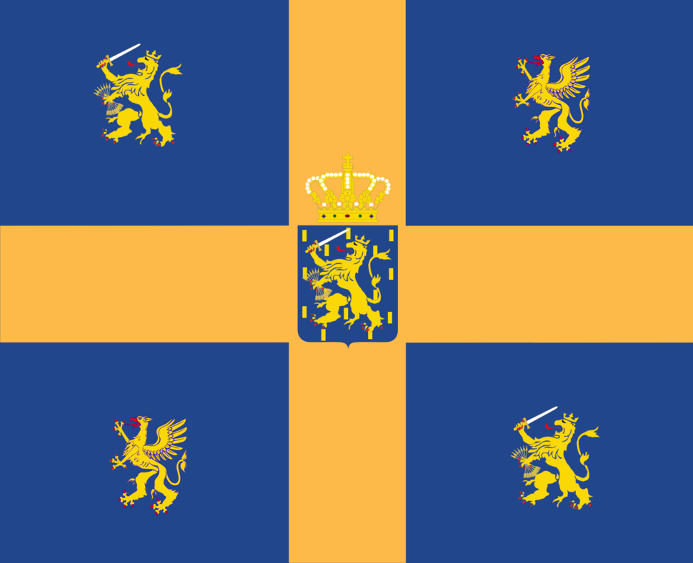 Standard of Hendrik of Mecklenburg-Schwerin as Royal consort of the Netherlands