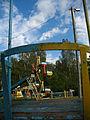 Standing attraction at Mazuryna park in Viciebsk - panoramio - Andrej Kuźniečyk (2).jpg
