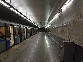 Ulitsa Starokachalovskaya Moscow Metro station