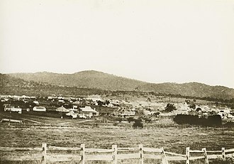 The Tenterfield Star - View of Tenterfield, New South Wales, 1887