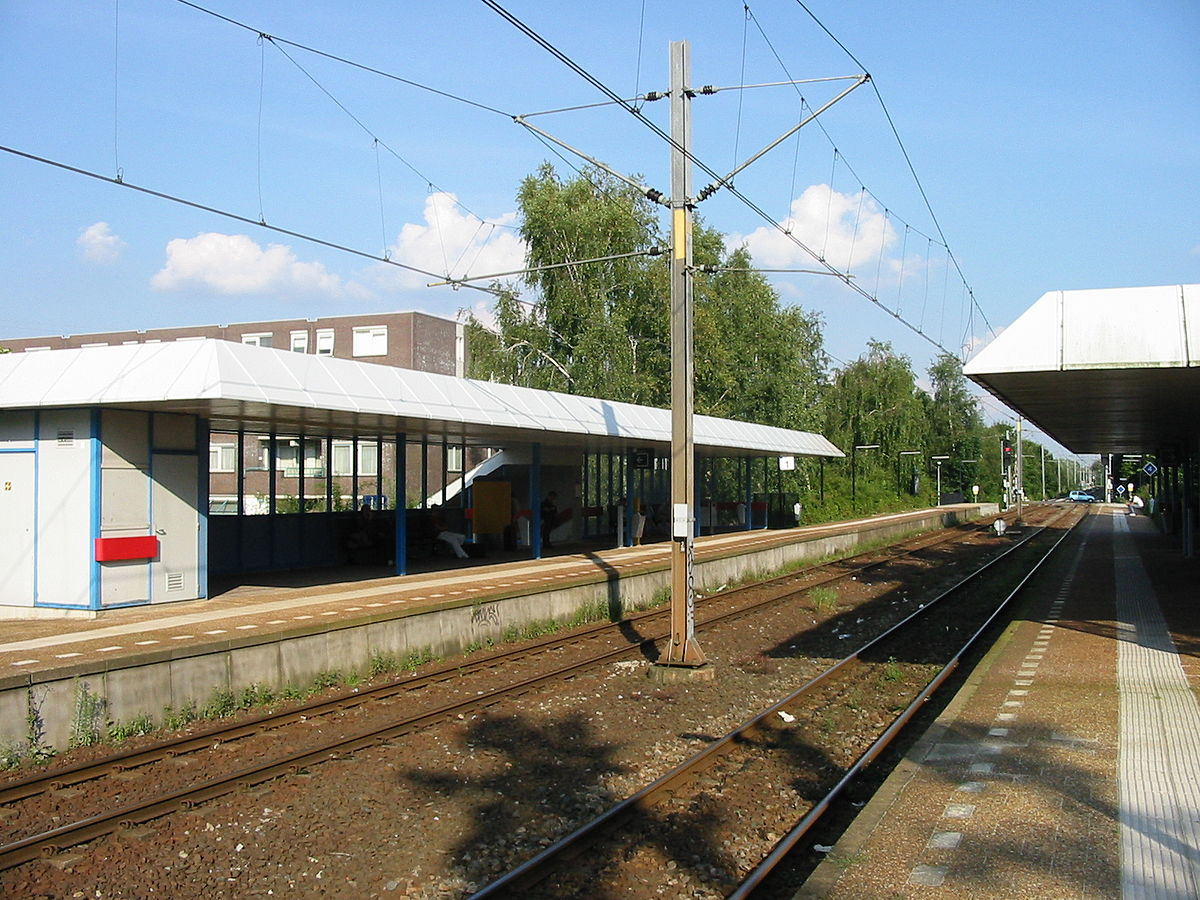 Station Veenendaal West - Wikipedia