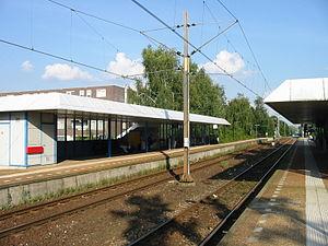 Veenendaal West railway station - Image: Station Veenendaal West