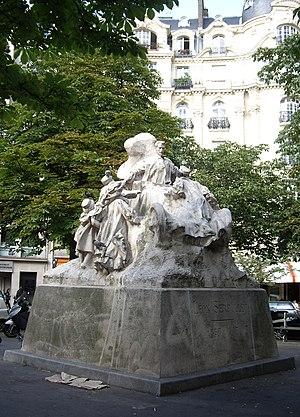 Léon Serpollet - Statue by Jean Boucher