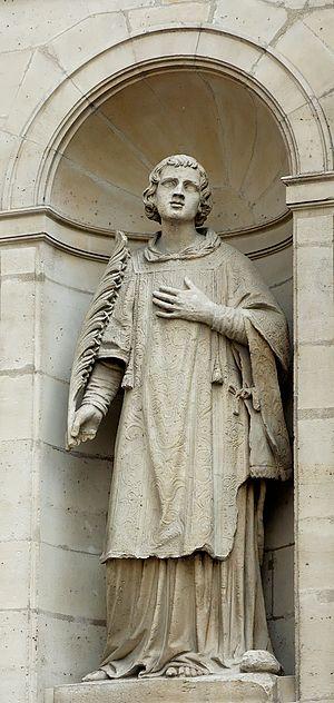 Joseph-Marius Ramus - Sculpture on the facade of the Saint-Étienne-du-Mont Church in Paris