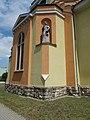 Statue of Saint Thomas by Lajos Mátrai (1931), Saint Barbara church, 2017 Dorog.jpg