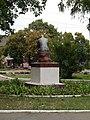 Statue of Taras Shevchenko in Shevchenkove, Shevchenkove Raion 2019 by Venzz 07.jpg
