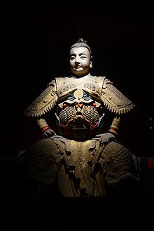 Statue of Zhuge Shang in the Temple of Marquis Wu 2014-09.JPG