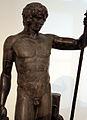 Statuetta di antinoo, da venezia, marmo nero, 130-140 dc ca. 02.JPG