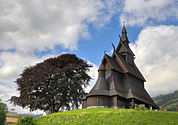 Stave church Hopperstad HDR.jpg