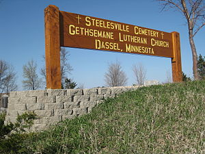 Steelesville Cemetery - Sign at Steelesville Cemetery