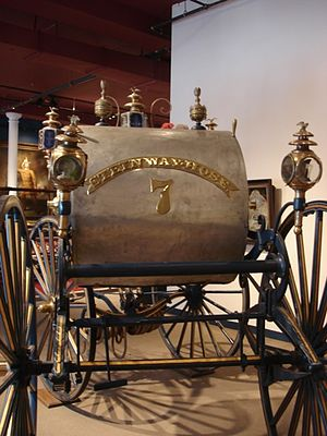 New York City Fire Museum - The Steinway Hose No. 7