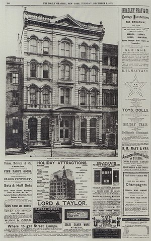 Daily Graphic - Image: Steinway hall 1873