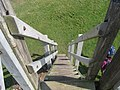 Steps from the lookout platform - geograph.org.uk - 1399489.jpg