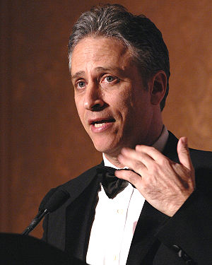 Jon Stewart host of The Daily Show.