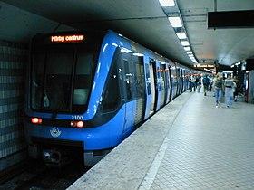 C20 på linie 14 mod Mörby Centrum