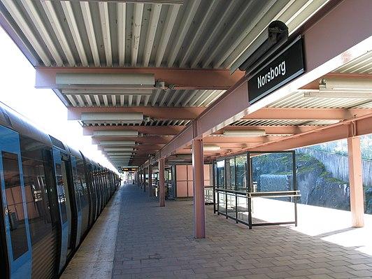 Norsborg metro station