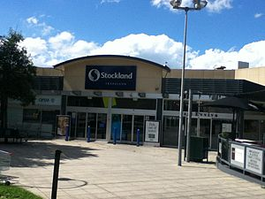 Traralgon - Stockland Traralgon in the CBD