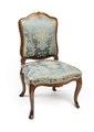 Stol, del av möbeluppsats, 1700-tal - Hallwylska museet - 109810.tif