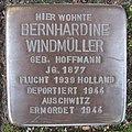 Stolperstein Bernhardine Windmüller in Beckum.nnw.jpg