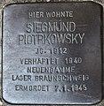 Stolperstein Göppingen, Siegmund Piotrkowsky.jpg