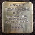 Stolperstein Helmstedter Str 22 (Wilmd) Ludwig Peiser.jpg