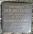 Stolperstein Hilchenbach Mühlenweg 25 Julie Holländer.jpg