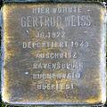Stolperstein Köln, Gertrud Weiss (Kleiner Griechenmarkt 33).jpg