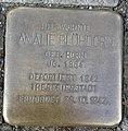 Stolperstein Köln Theodor-Heuss-Ring 60 Amalie Blühdorn.jpg