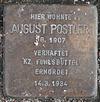Stolperstein für August Postler