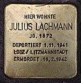 Stolperstein Mainzer Str 15 (Wilmd) Julius Lachmann.jpg