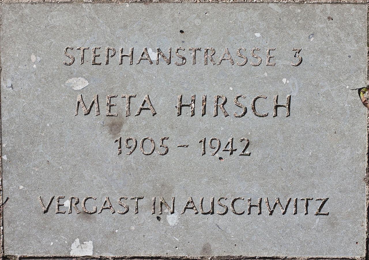 Stolperstein Meta Hirsch.jpg