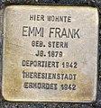 Stolperstein Remscheid Alleestraße 20 Emmi Frank.jpg