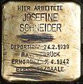 Stolperstein Salzburg, Josefine Schneider (Getreidegasse 24).jpg