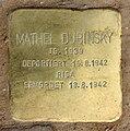 Stolperstein Schönwalder Str 64 (Spand) Mathel Dubinsky.jpg