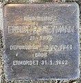 Stolperstein Schillerstr 14 (Charl) Ernst B Heymann.jpg