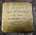 Stolperstein für Max Bissinger in Neu-Ulm.JPG