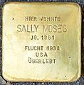 Stolpersteine Familie Moses Sally-Moses Elisenstraße 3 Köln.jpg