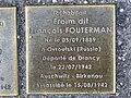 Stolpersteine Froïm Fouterman 53 rue Clos Orléans Fontenay Bois 1.jpg
