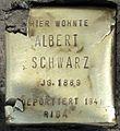 Stolpersteine Köln, Albert Schwarz (Aachener Straße 28).jpg